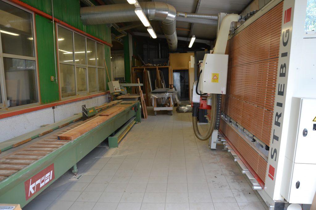 Valcuisines - atelier - zone débitage
