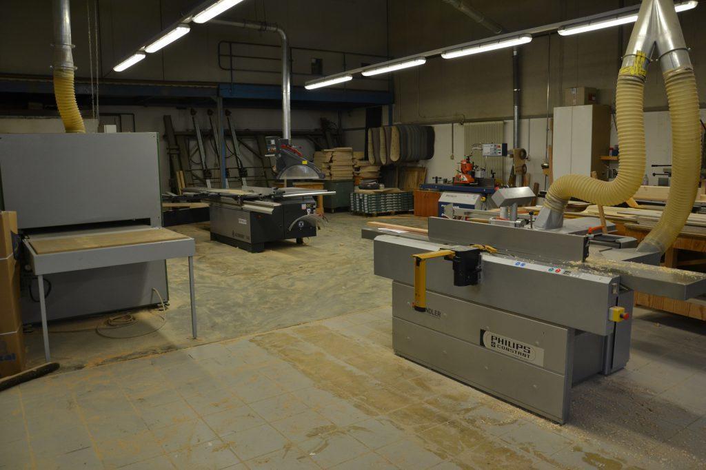 Valcuisines - atelier - zone machine