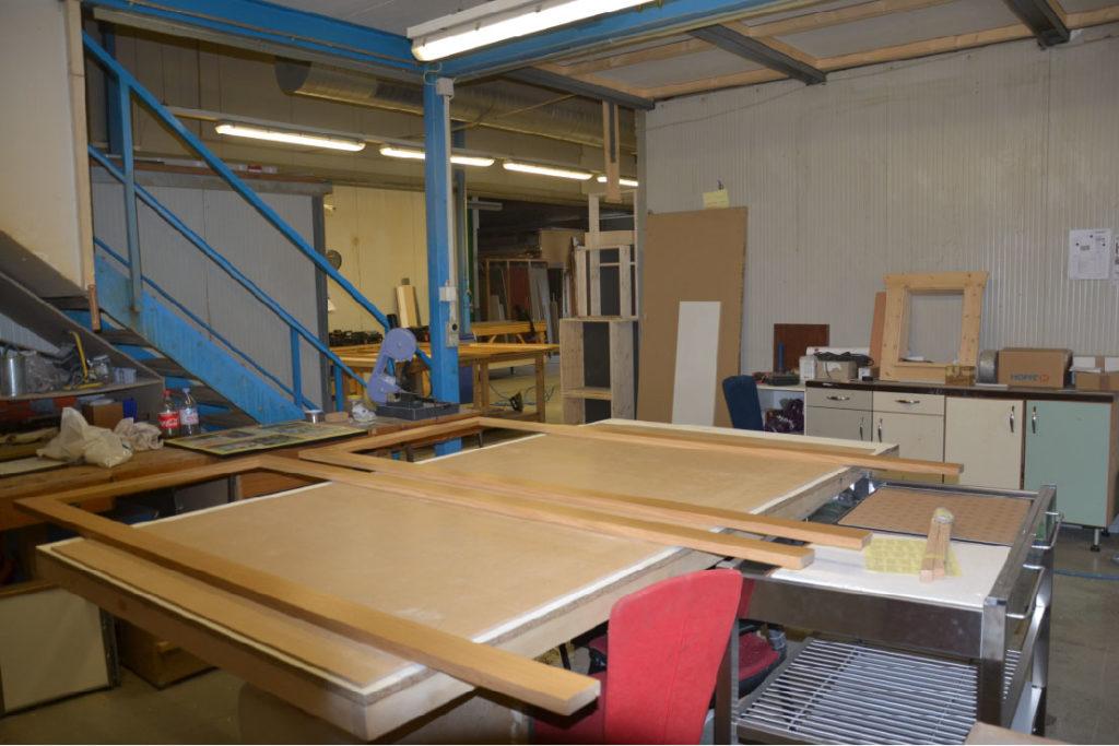Valcuisines - atelier - zone finition